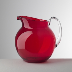 gifts, homewares, Mario Luca Giusti Pallina Pitcher - Red