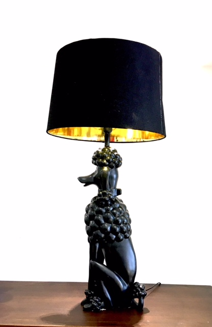 lamps, poodle lamps, table lamps
