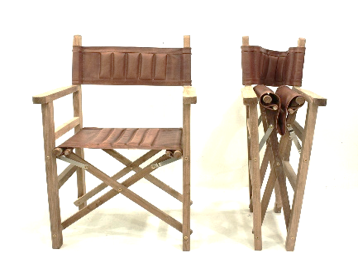Leather director chairs