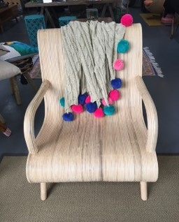 Bamboo Flow Chair with StoolFlow Chair