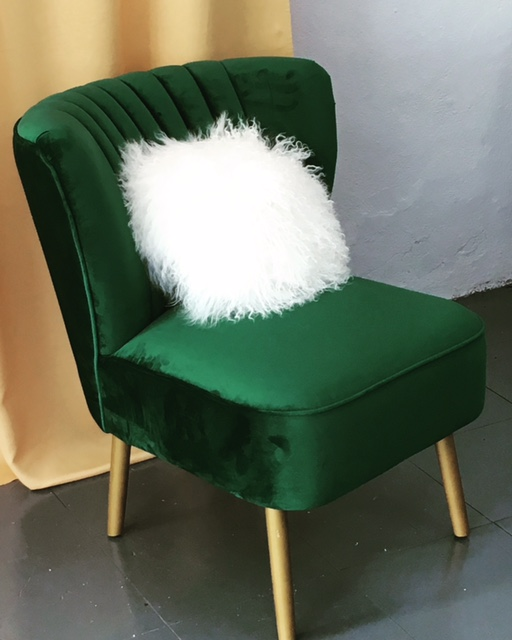 green velvet chair, ivy green chair emerald green chair