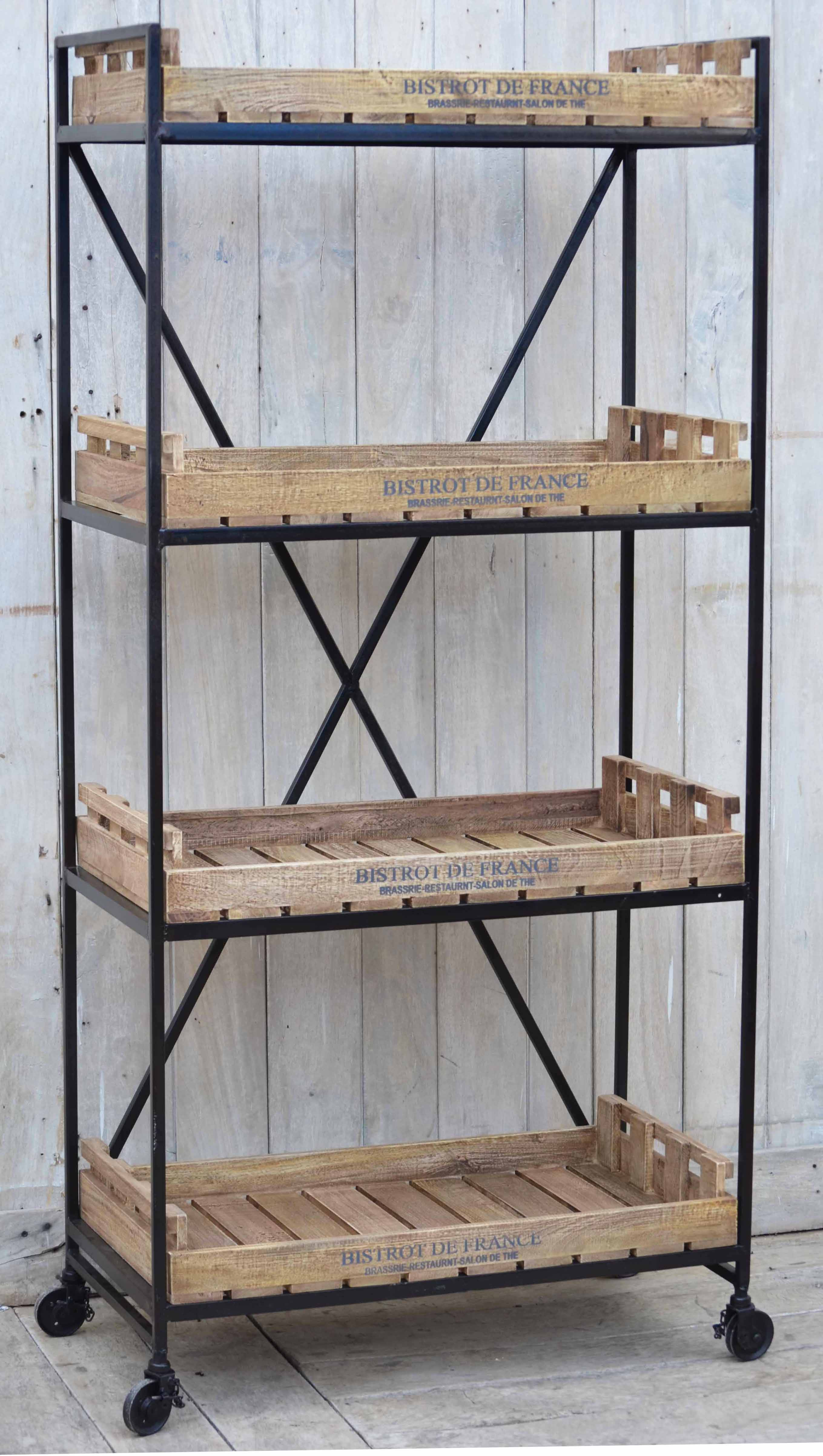French Bistro Storage and Shelving