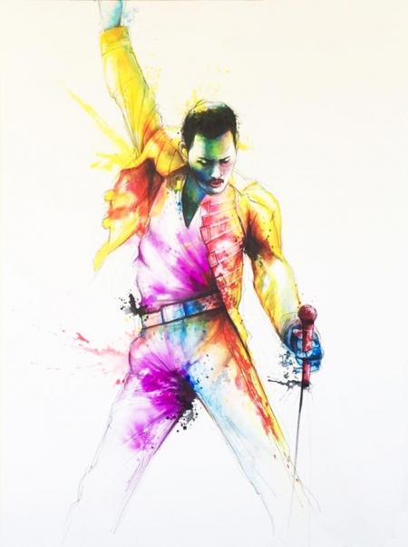 Wall Art, Freddie Mercury,
