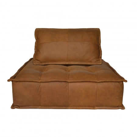 Leather Capri Lounger