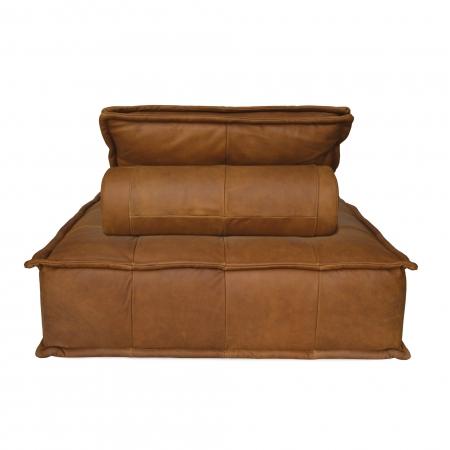Leather Capri Lounger