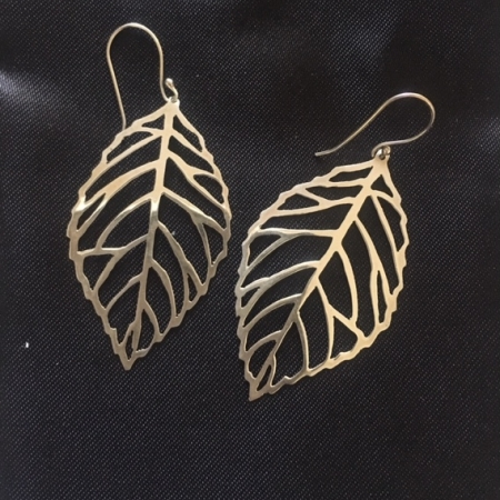 Leaf Skeleton Earrings