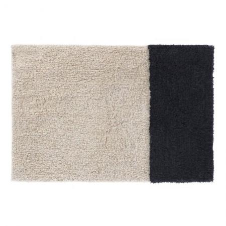 Black and White Bath Mat