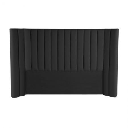 Velvet Panelled Bedhead
