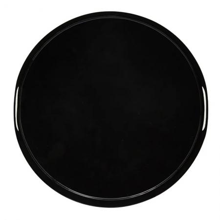 The Black Enamel Serving Tray