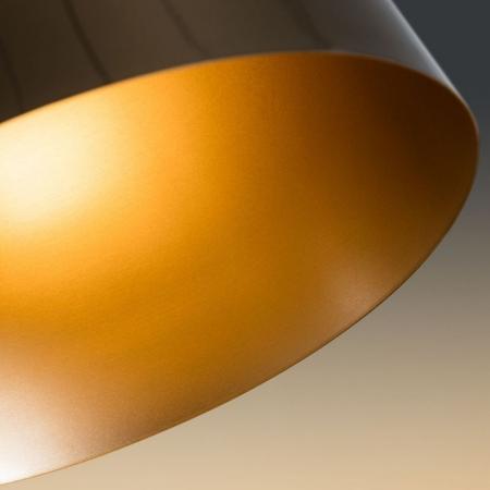 Black and Brass Floor Lamp