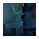 Blue Abstract Oil Painting