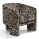 Leopard Print Arm Chair