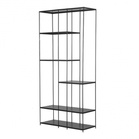 The Display Open Shelf in Black or Gold